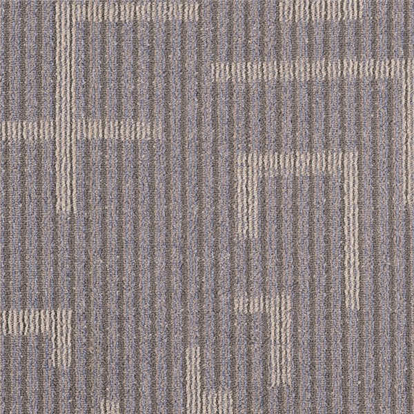 3.5 - 4mm Pile Height PP Carpet Tile 100% Bcf PP Yarn Type For Project
